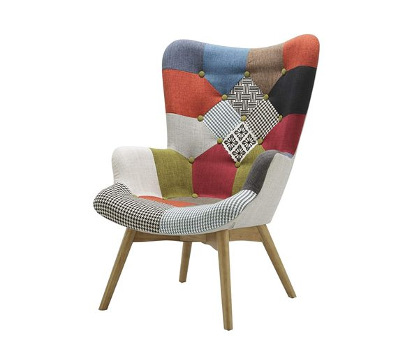 Birlea Patched Sloane Chair